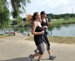 אימון ריצה בפארק